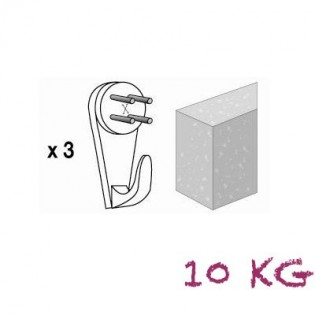 Crochet X Bétons n°3
