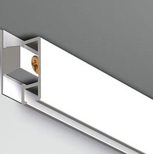 Pack Eco 30 m : cimaise Click Rail