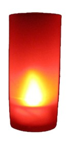 Red led candle WITH Blow function