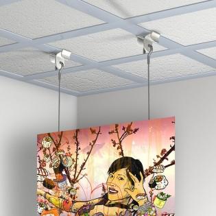 Kit accrochage faux plafond : Ceiling Clamper
