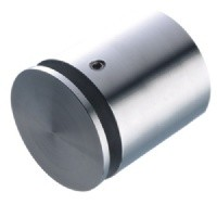 Drilled wall mount stainless steel 18mm