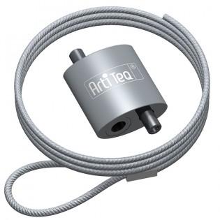 Crochet à boucle Artiteq + câble acier à boucle