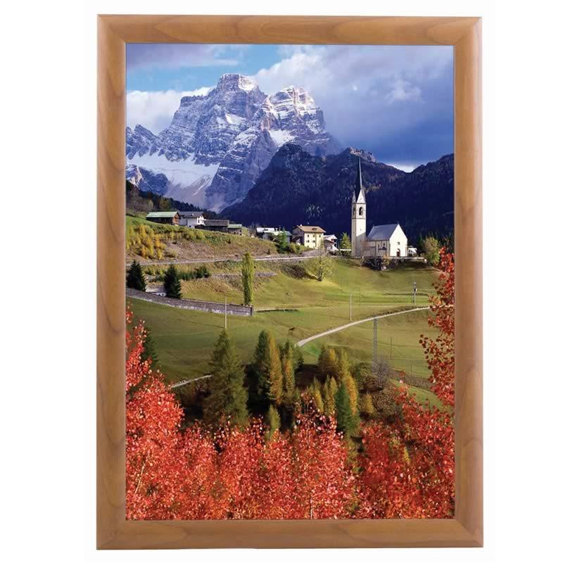Click Frame aspect bois - cadre à ouverture frontale