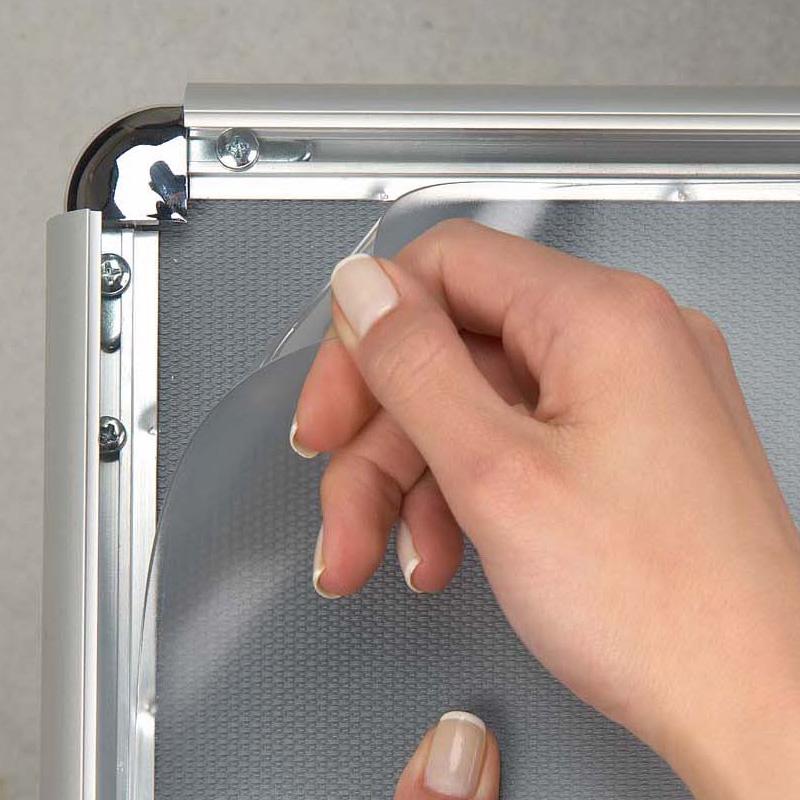 Click Frame Angles arrondis - cadre à ouverture frontale