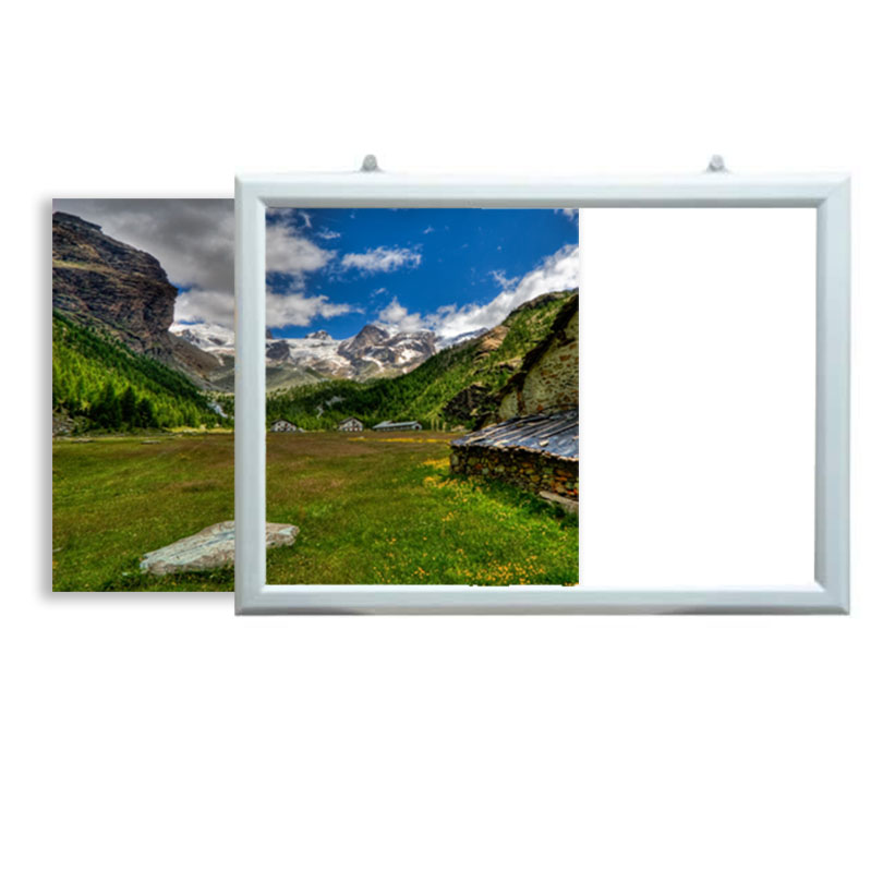 Horizontal Slide In frame