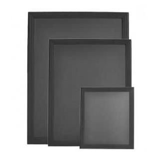 Pizarra pared universal negro