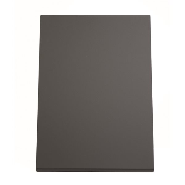 L-shaped table slate