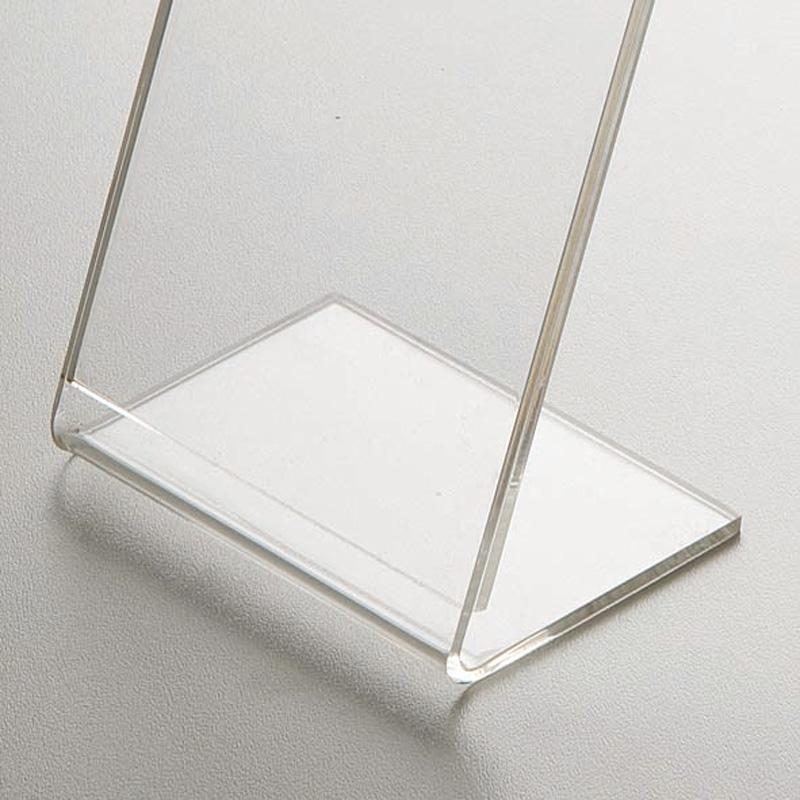 Plexiglas menu holder L