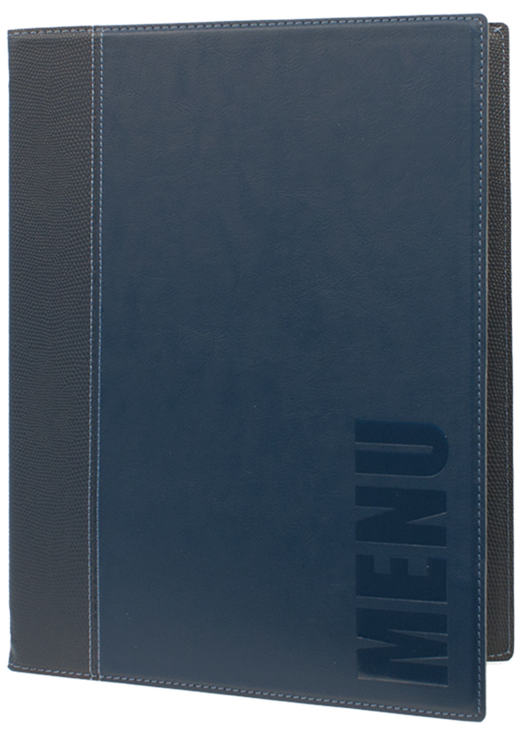 Menu protectors BOX Trend A4 blue