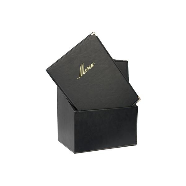 Classic A4 black - BOX 20 protects-menus