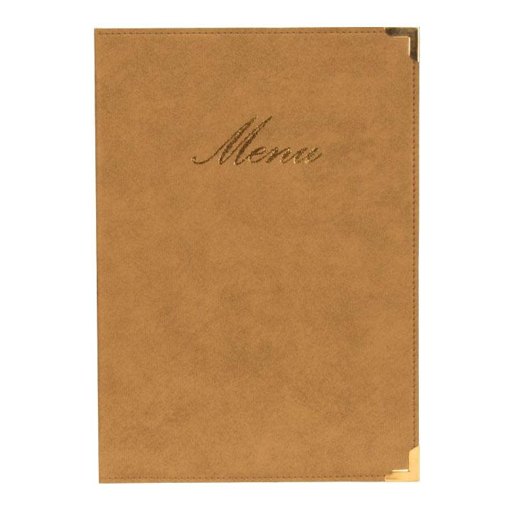 Protège-menus BOX Classique A4 beige ivoire