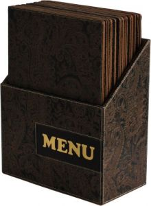 BOX Design A4 Paisley Menu Pads