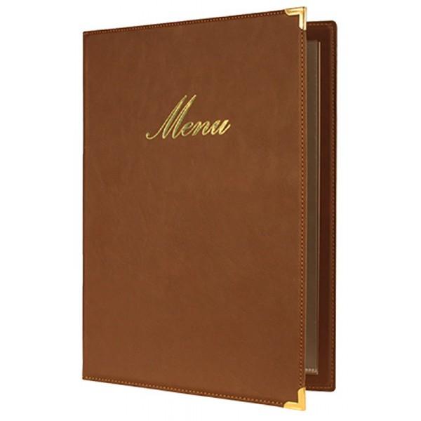Protège-menus classique A4