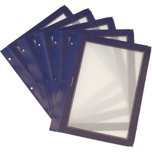 A4 menu protection inserts