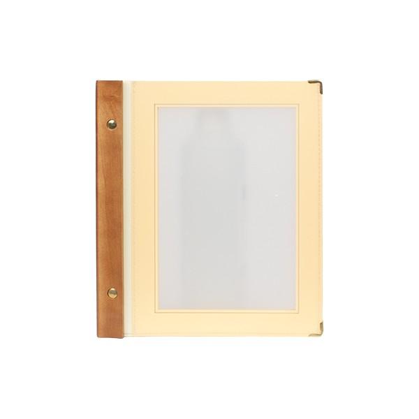 Protège-menus A5 Wood