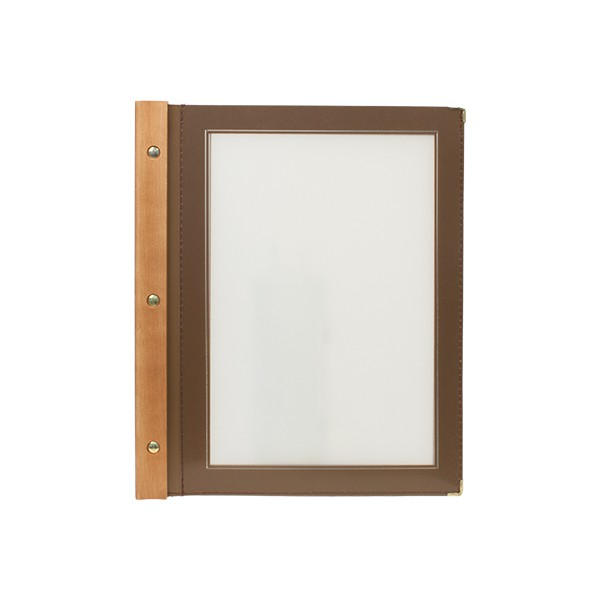 Protège-menus A4 Wood