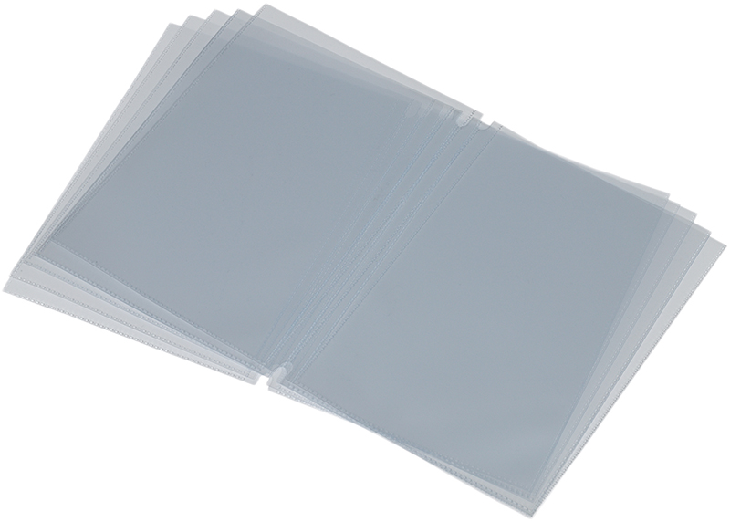 Inserts protège-menu A4