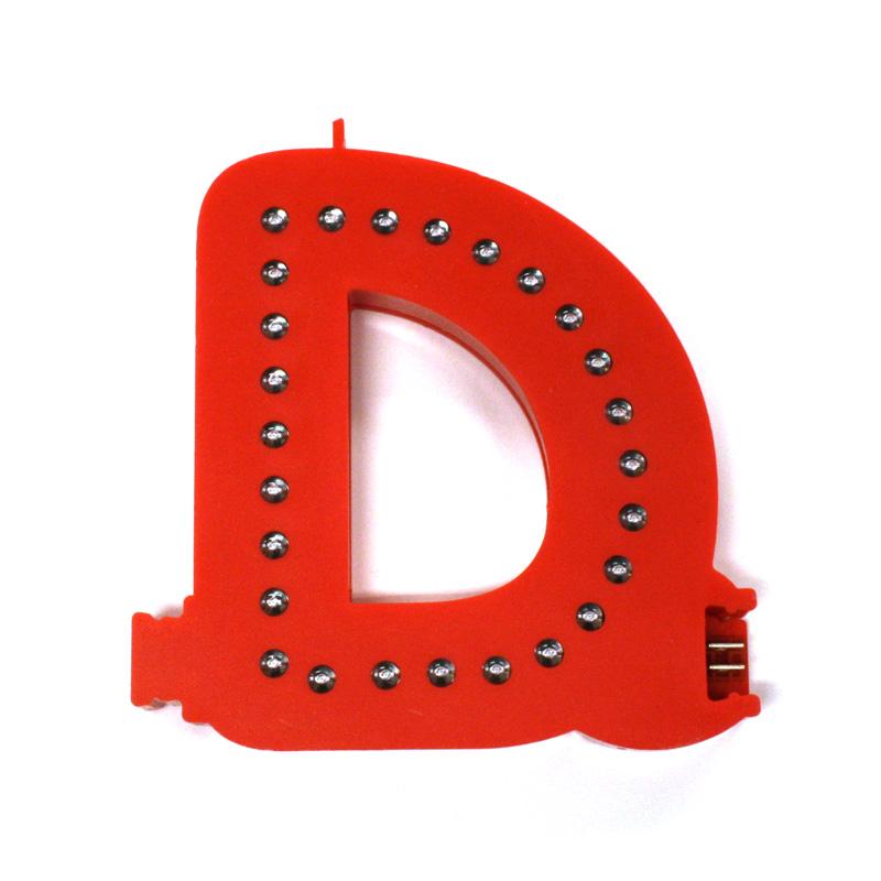 Lettre D Smart LED