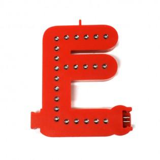 Lettre E Smart LED