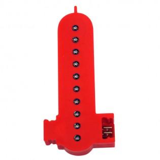 Lettre I couleur rouge à LED - Lettre lumineuse alphabet Smart LED pour enseigne vitrine