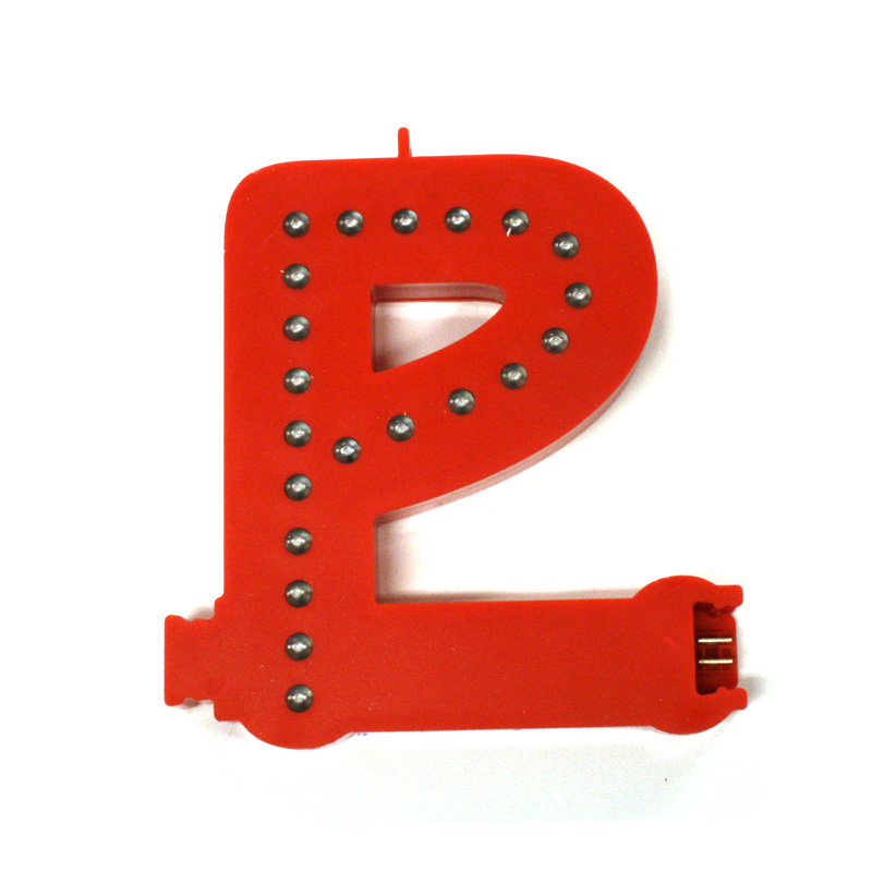Letter P Smart LED