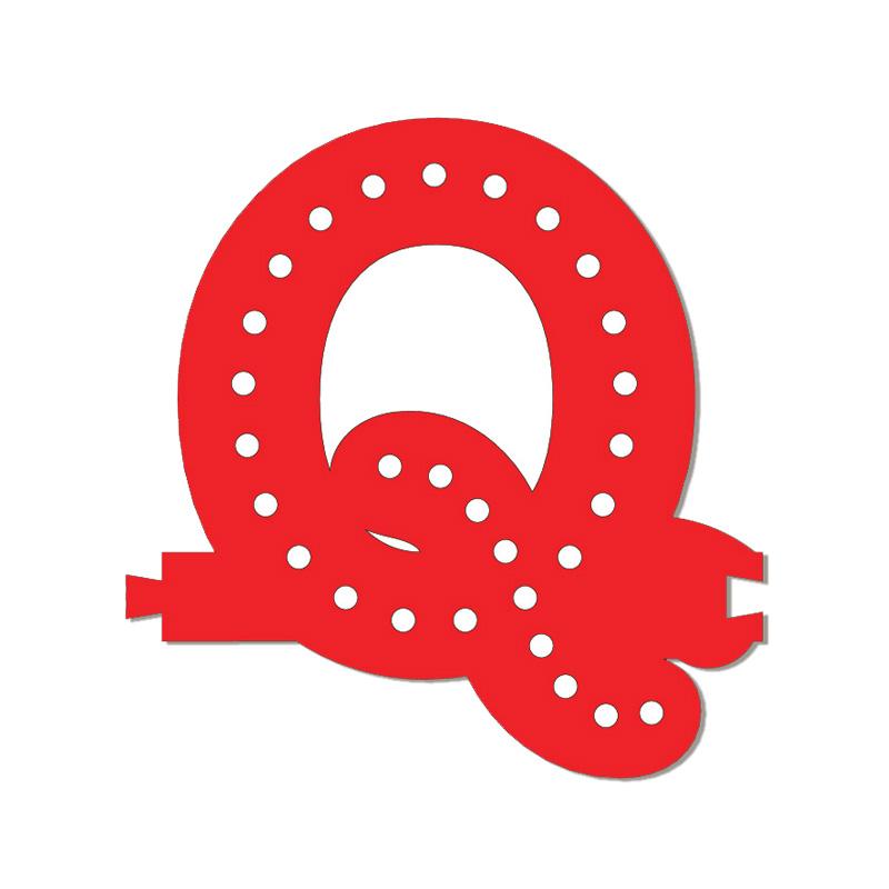 Lettre Q Smart LED
