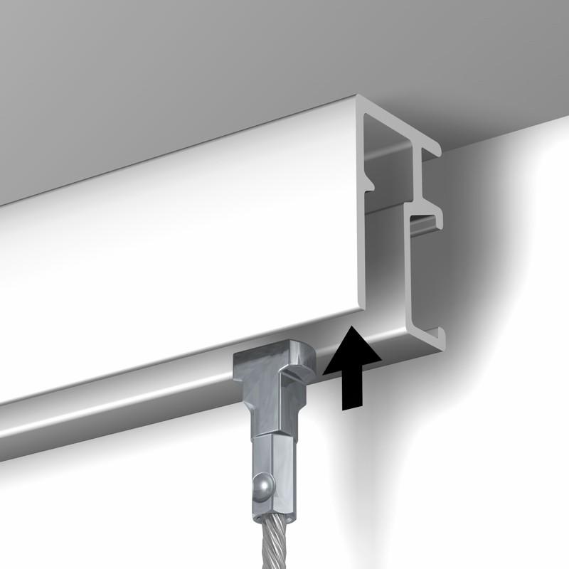 150 cm câble acier embout twister Newly