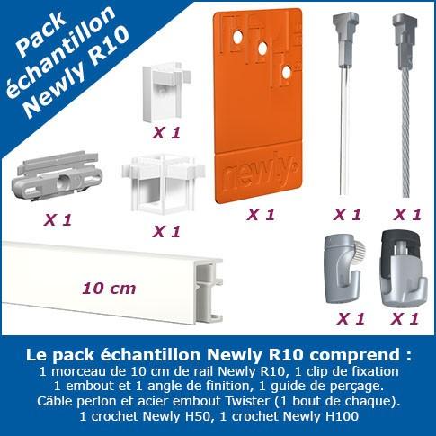 Pack échantillon cimaise Newly R10