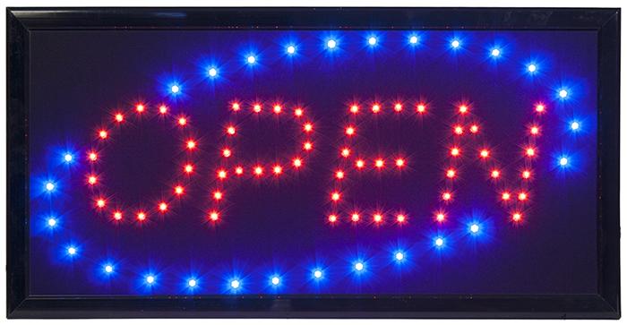 "Enseigne lumineuse LED ""PIZZA"""