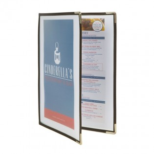 Protects-menus A4 Crystal 4 pages