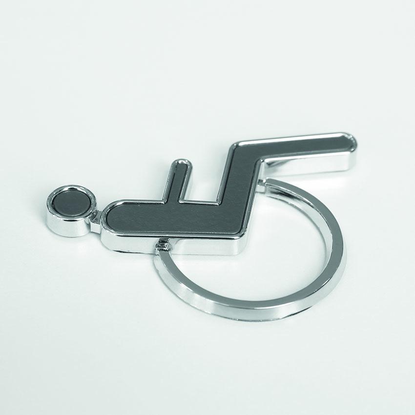 Pictogramme 3D toilette Homme
