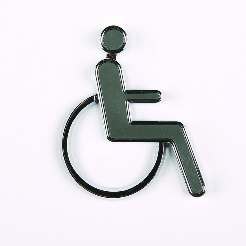 Pictogramme 3D toilette Handicapé