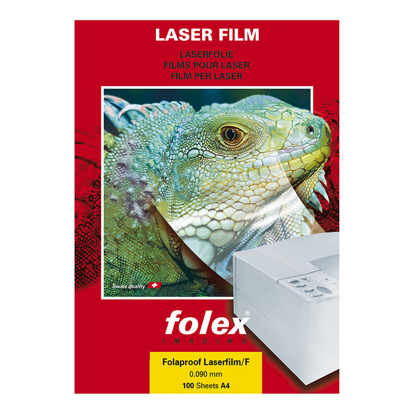 100 films translucide FOLAPROOF Laserfilm