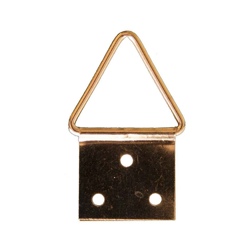 4 attaches triangulaires 16mm