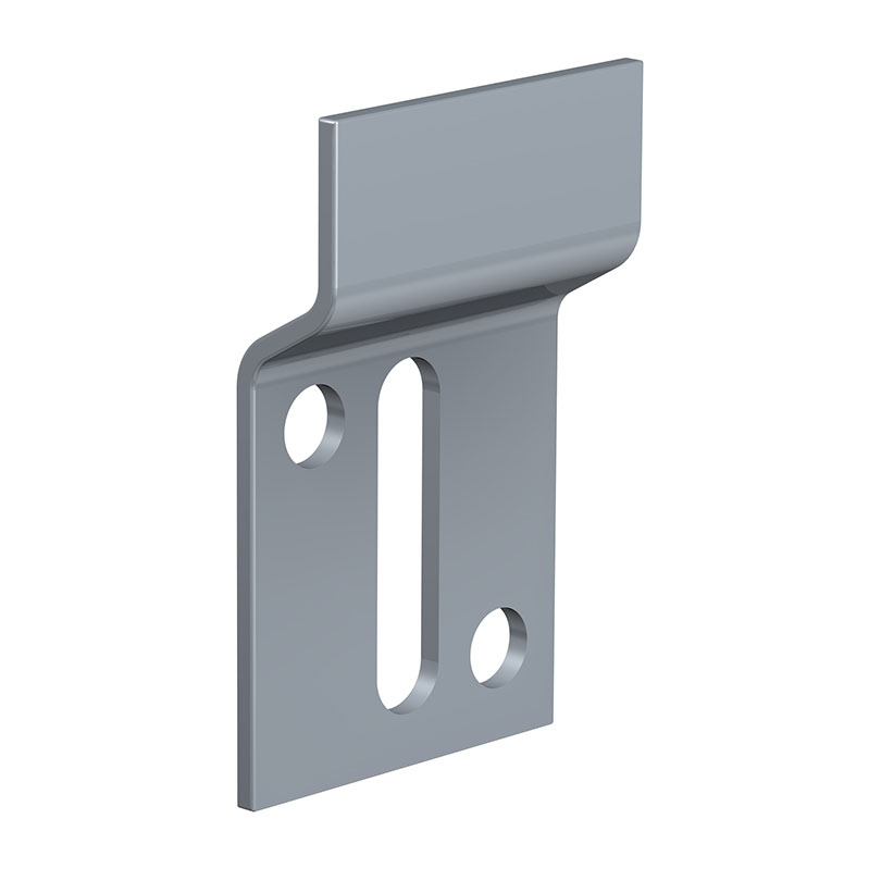 Wall bracket for attachment Dibond