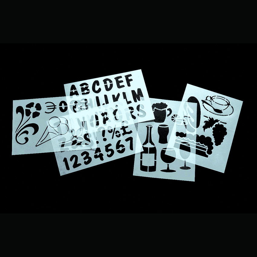 Slate stencils