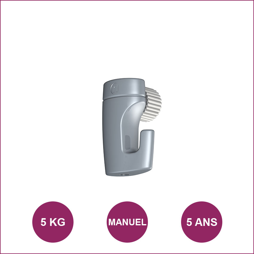 Gancho Newly H50: máximo 5kg