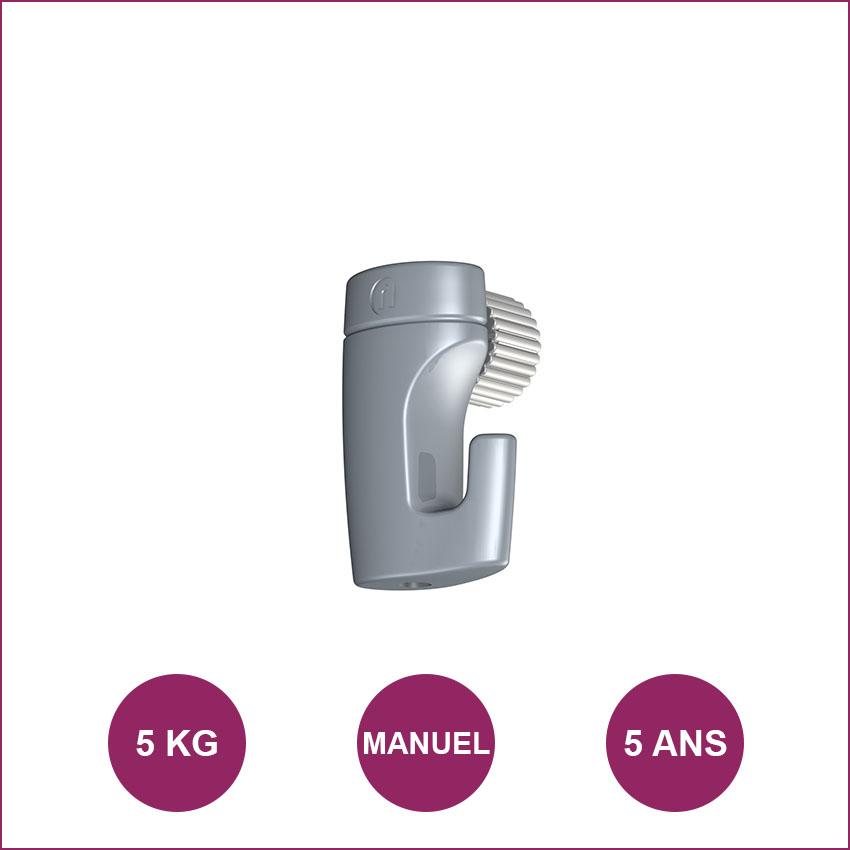Gancho Newly H50: máximo de 5kg