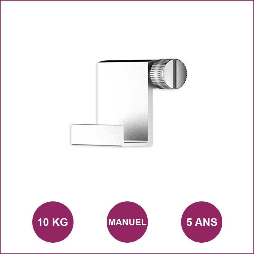 Gancho de ganchillo aluminio: máximo 10 kg