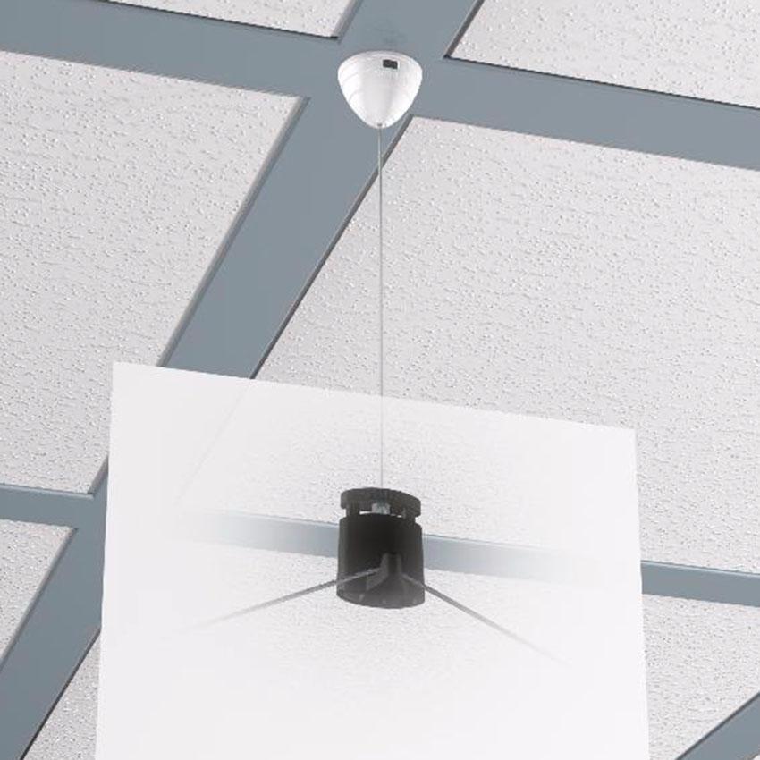 Magnetic ceiling hanger