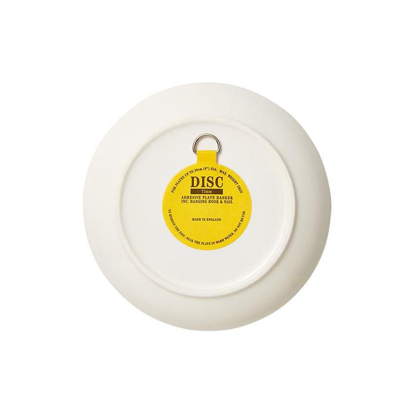 75 mm Disque adhésif pour assiette