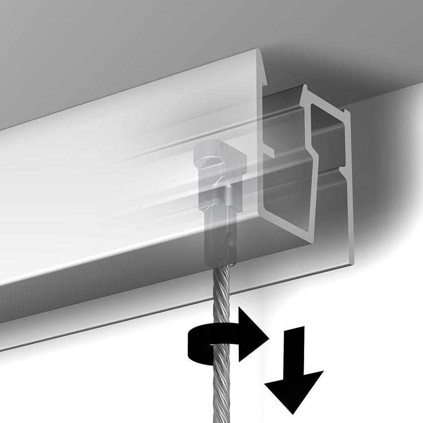 Blocage du câble twister