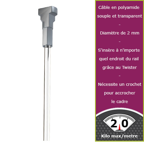150 cm Perlon Tipp Twister Newly