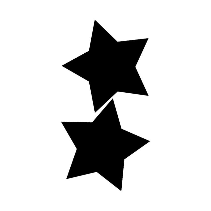2 Ardoises Silhouette Star