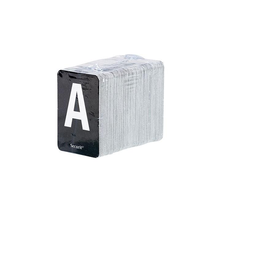 Etagère Lettre noir 1 m avec 169 lettres
