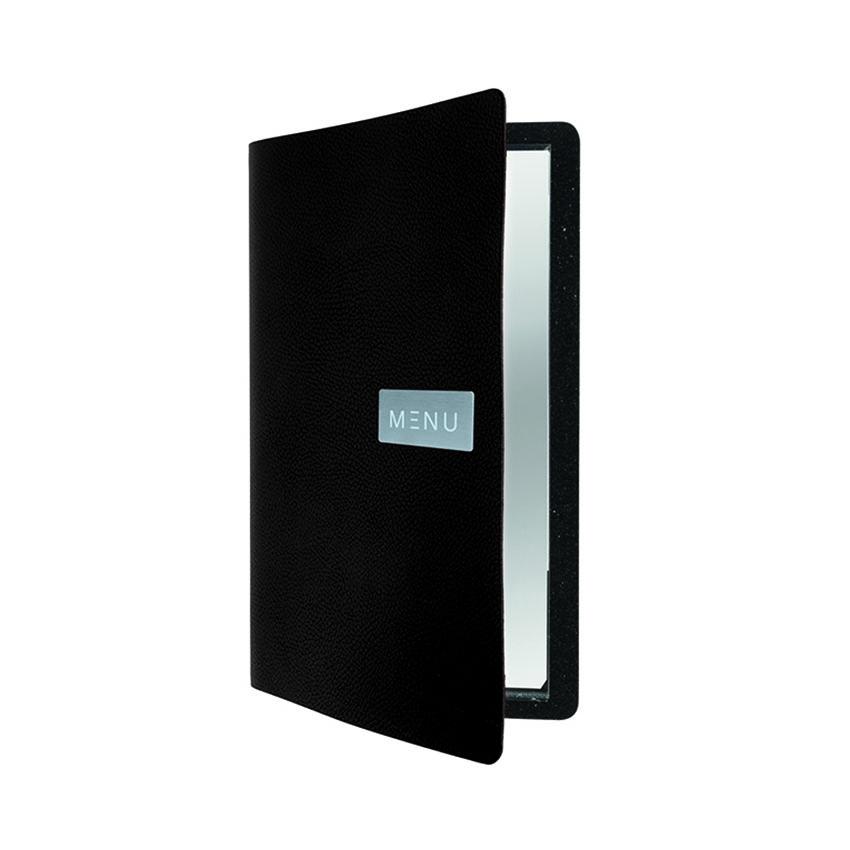 Protège-menu cuir noir RAW