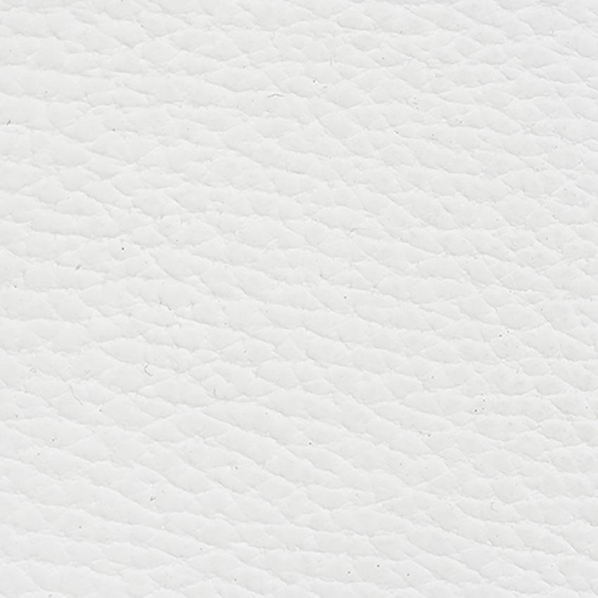 Protège-menu cuir blanc RAW