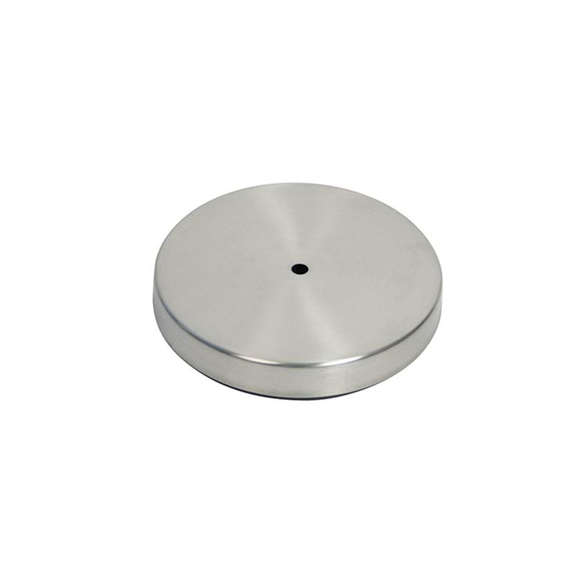Base cendrier poteau acier inox