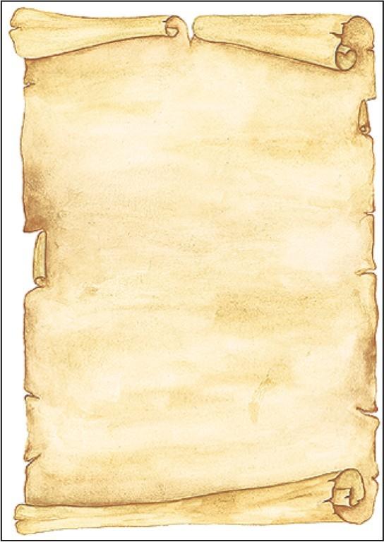 Papier créatif Parchemin