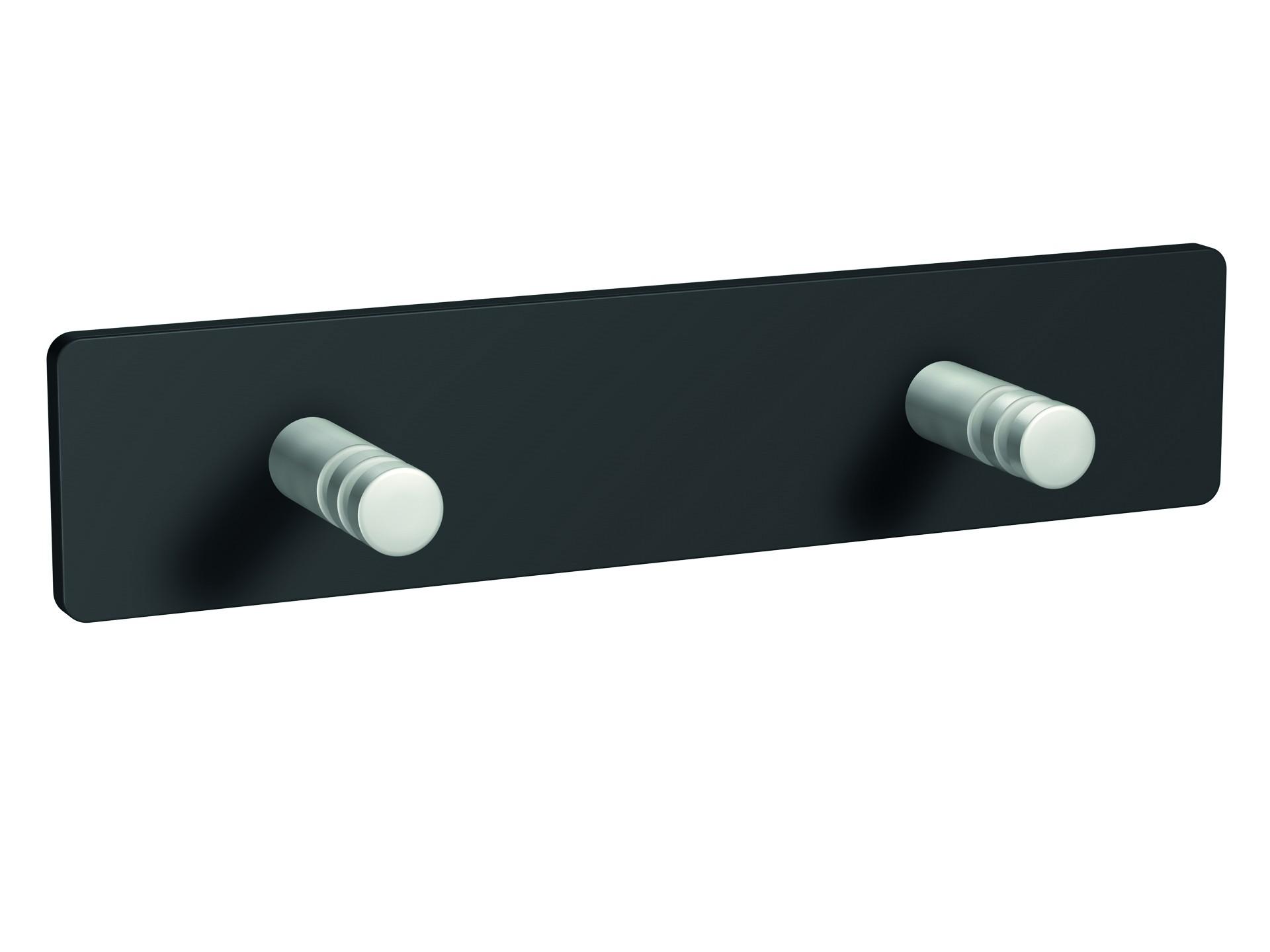 Porte-manteau 2 crochets magnétiques - modèle STANDARD